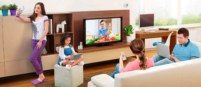Услуги интернет соединения, телевидение и телефония от ростелеком