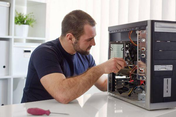 компания по обслуживанию компьютеров