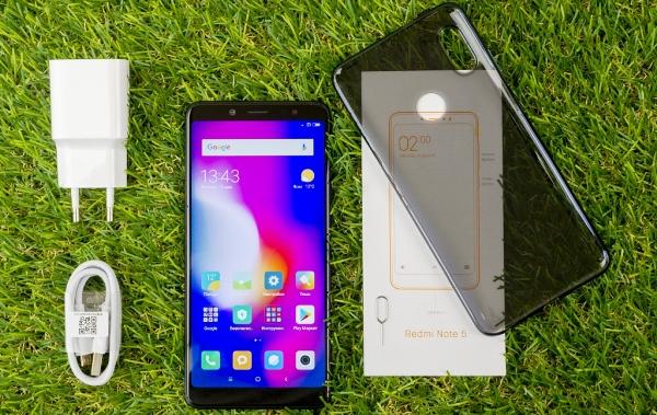 Комплектация Xiaomi Redmi Note 5 4/64Gb Black