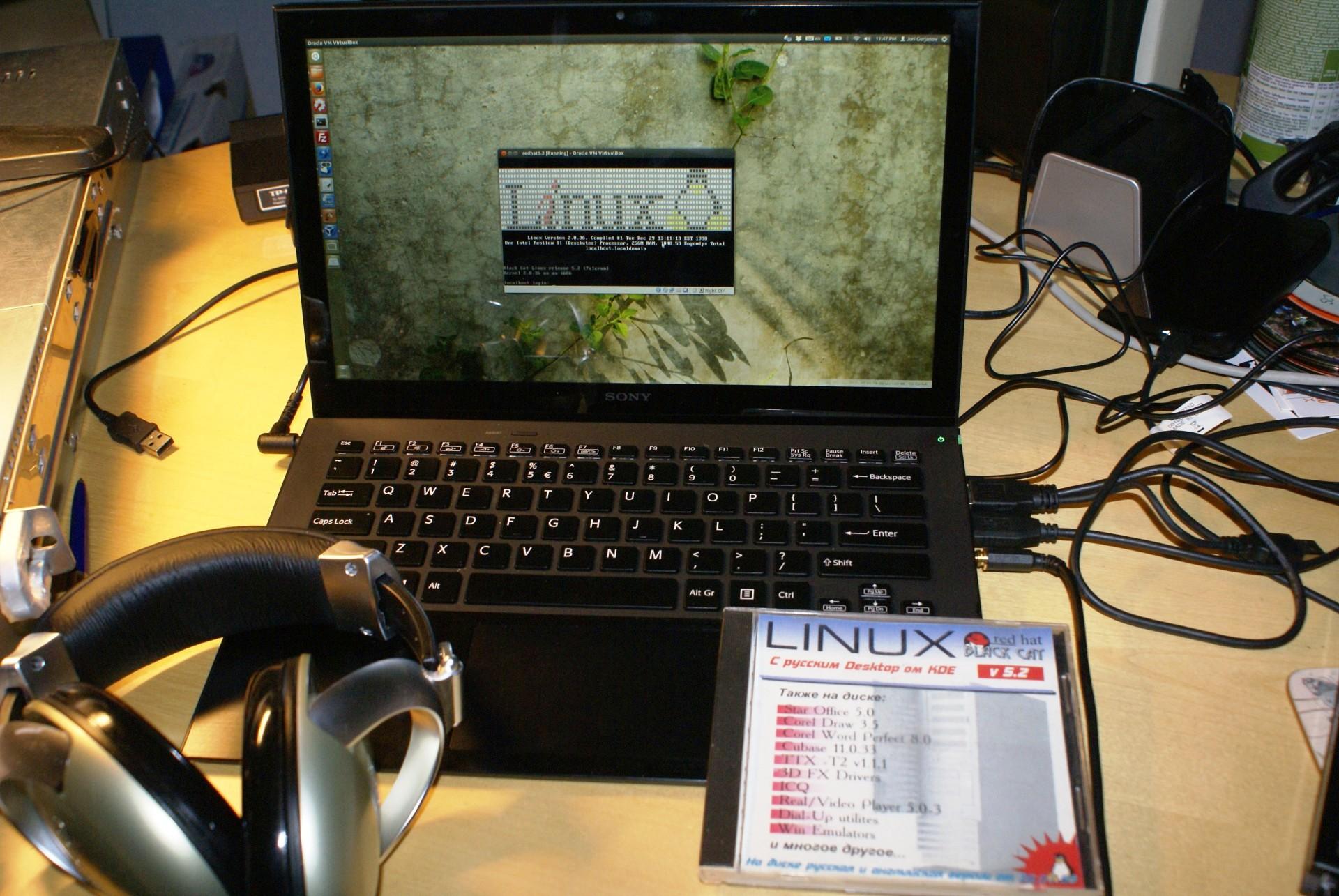 Как в Red Hat Linux работать с командной оболочкой shell с помощью клавиатуры и мыши