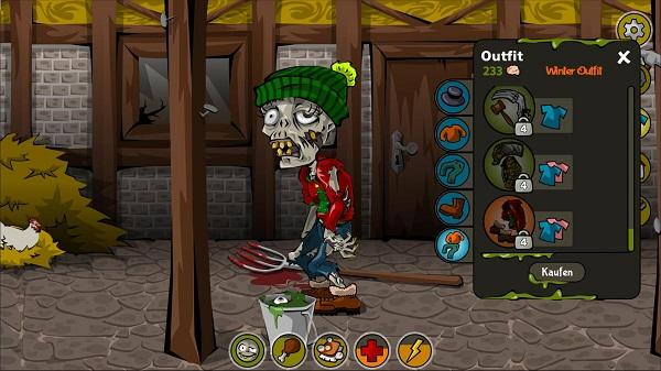 Зомби игры на двоих