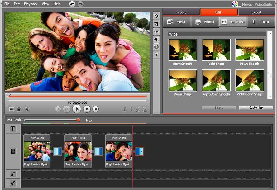 для обработки видео и ее аналоги