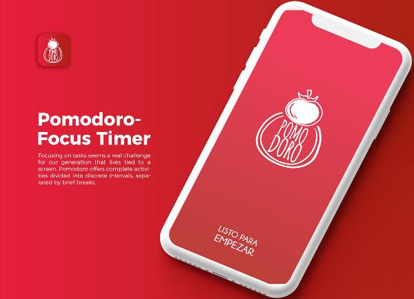 Приложение Pomodoro Timer