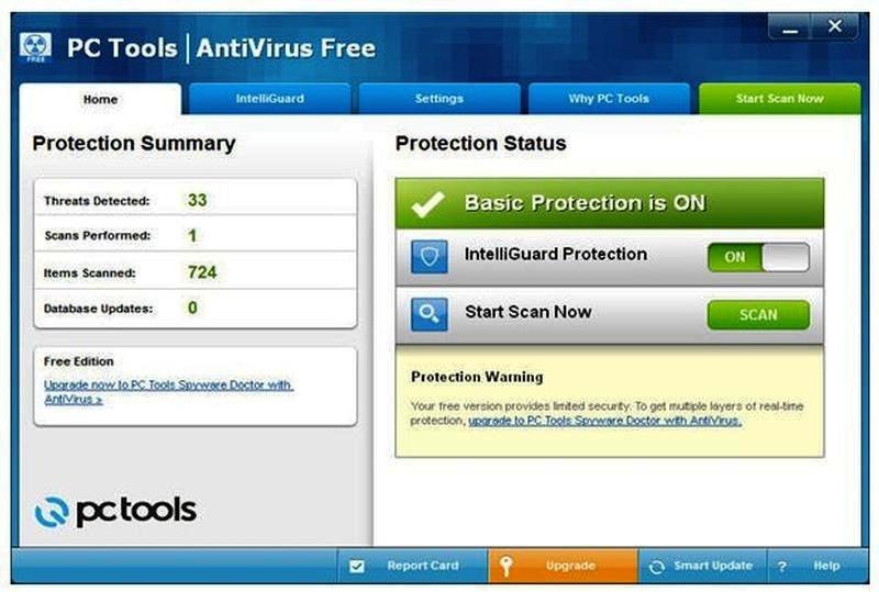 Антивирус PC Tools ThreatFire