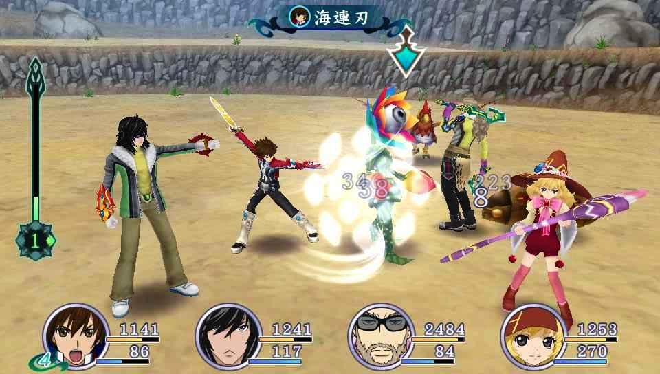 Проект Tales of Hearts R на PS Vita