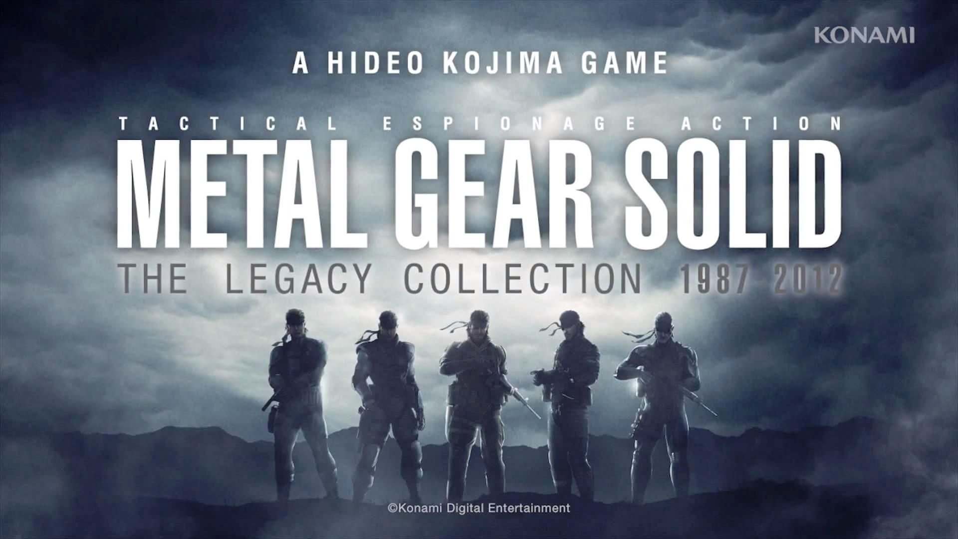 Видеоигра Metal Gear Solid: HD Collection