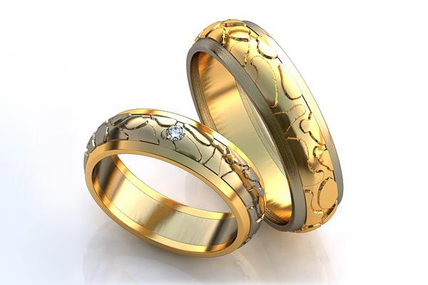 обручальное кольцо европейская модель