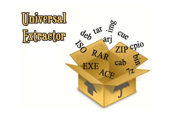 Разархиватор Universal Extractor