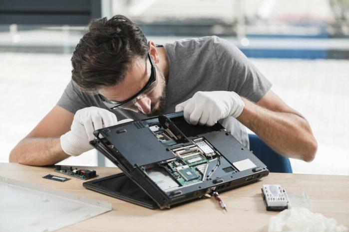 о чистке ноутбуков