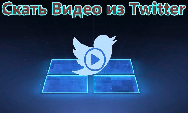 скачать видео с твиттера