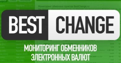 сервис мониторинга обменников BestChange.ru