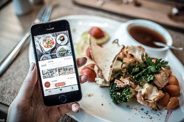 приложение для кафе и ресторанов