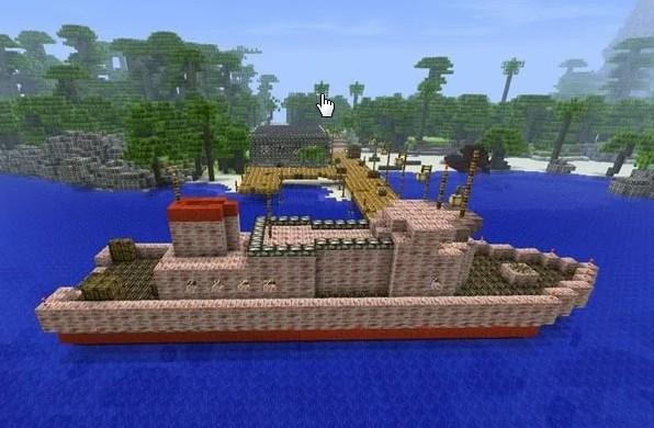 Minecraft 1.5.1 на Телефон Бесплатно: Морское Обновление